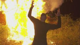 wyatt family compound burned down randy orton video smackdown live bray