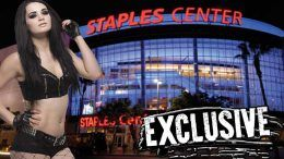 staples center paige fighting with my family wwe