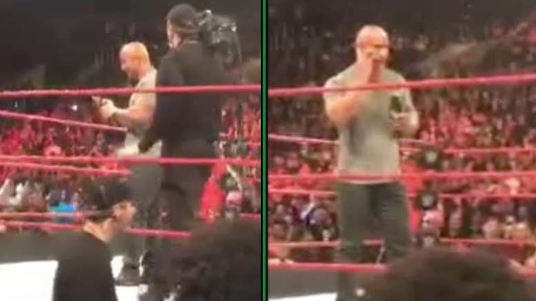 rock cm punk call voicemail after raw video