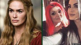 saraya knight game of thrones cersei lena heady the rock movie paige mom