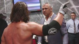 shane mcmahon aj styles smackdown live confrontation fight backstage video michael hayes road dogg michael cole