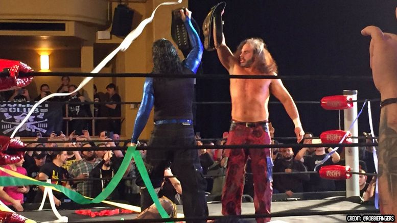 roh tag hardy broken matt jeff ring of honor roh tag titles video