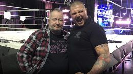 dad paige family wwe show norwich angry pissed conspiracy ricky zak united kingdom championship