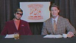 southpaw regional wrestling video parody john cena rusev chris jericho