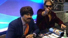 chet chetterfield mackelroy southpaw regional wrestling wwe axxess wrestlemania signing photos