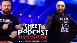 mauro livecast sheet podcast wwe wrestling ryan satin james mckenna