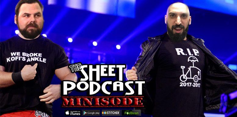 mauro livecast sheet podcast wwe wrestling ryan satin james mckenna
