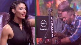 shaq shaquille oneil eva marie eleague video game tournament video