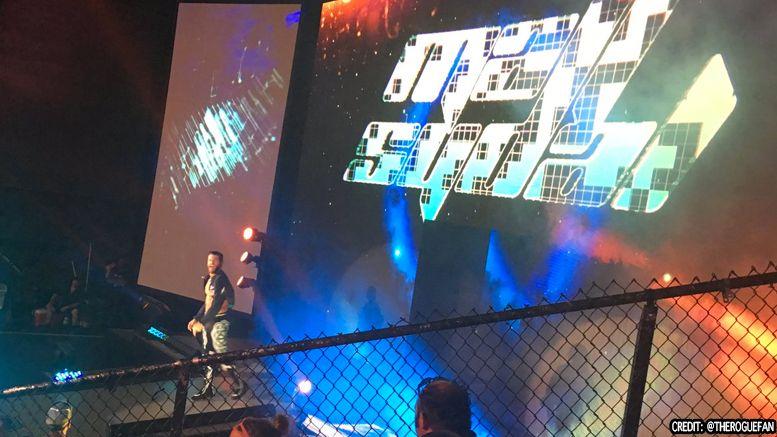 matt sydal returns impact wrestling tv taping