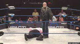 scott steiner impact wrestling return