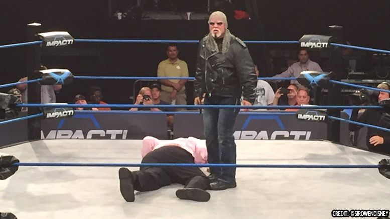 scott steiner impact wrestling return