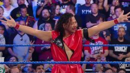crowd shinsuke nakamura smackdown live debut video