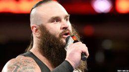 elbow braun strowman show off surgery picture