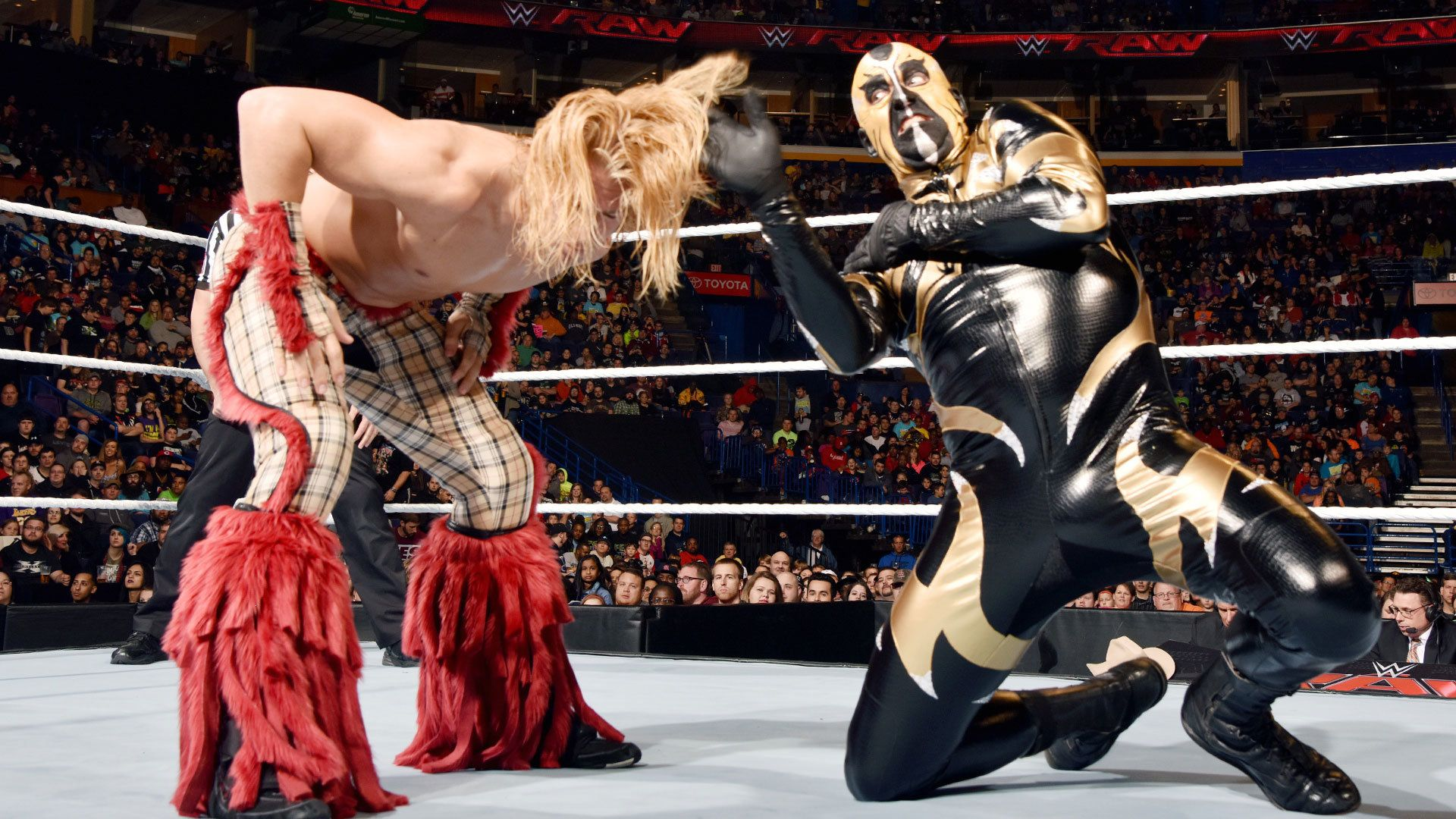 goldust heel turn video golden truth raw