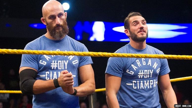 johnny gargano new theme diy tommaso ciampa nxt takeover chicago speculation