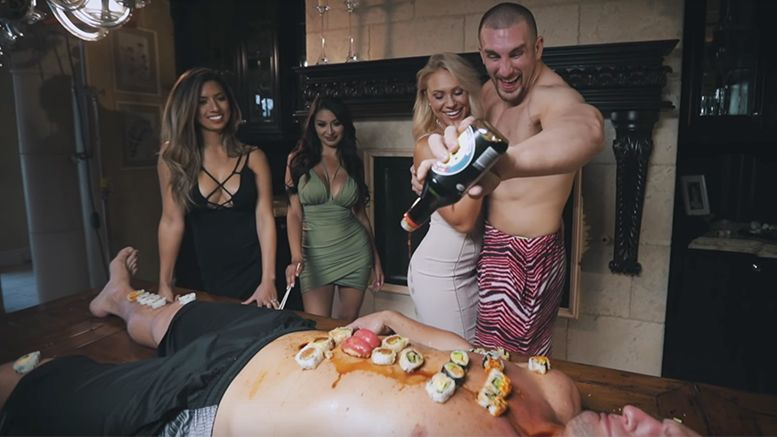 mojo rawley rob gronkowski music video soy sauce