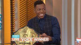 big gold belt voice winner chris blue access hollywood live video wrestling