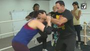 chavo guerrero jr glow training actors video netflix