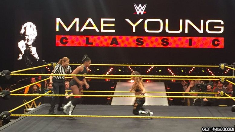 mae young classic competitors qualify nxt taping