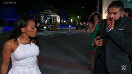 thea trinidad nxt andrade almas video slap