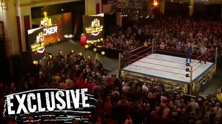 UK Championship series wwe live events pete dunne trent seven tyler bate mark andrews wolfgang