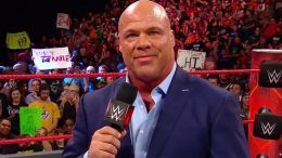 kurt angle son child announcement jason jordan raw