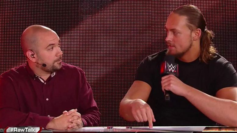 big cass raw talk video brock lesnar universal championship title