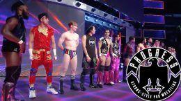 205 live progress wrestling jack gallagher nyc new york city event debut