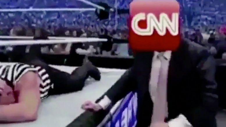 meme president trump donald jerry lawler lighten up reaction meme video cnn fnn