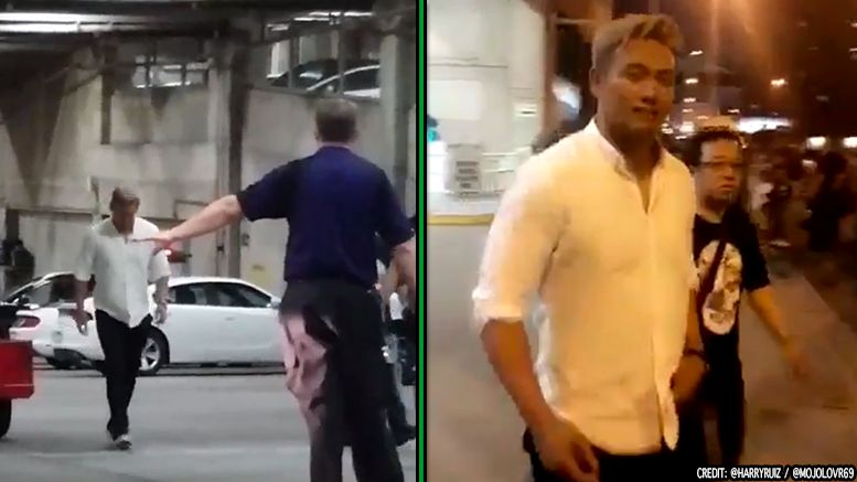 kazuchika okada spotted leaving raw njpw iwgp champion video