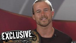 crew adam cole nxt airport photo takeover brooklyn