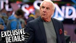 hospitalized ric flair wwe heart issues