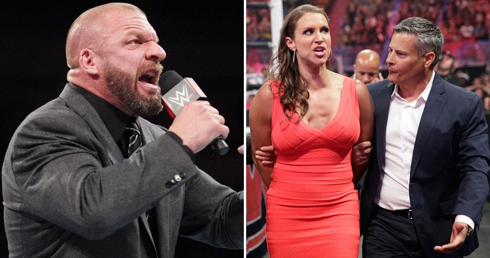 Triple H Plays With His Kids (Photo WWE Battleground Promo) Pictures of triple h and stephanie mcmahon kids