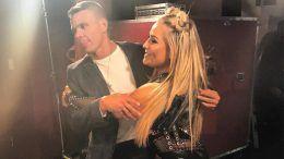 tyson kidd backstage smackdown live natalya producer photo