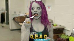 horror zombie sasha banks tom savini video