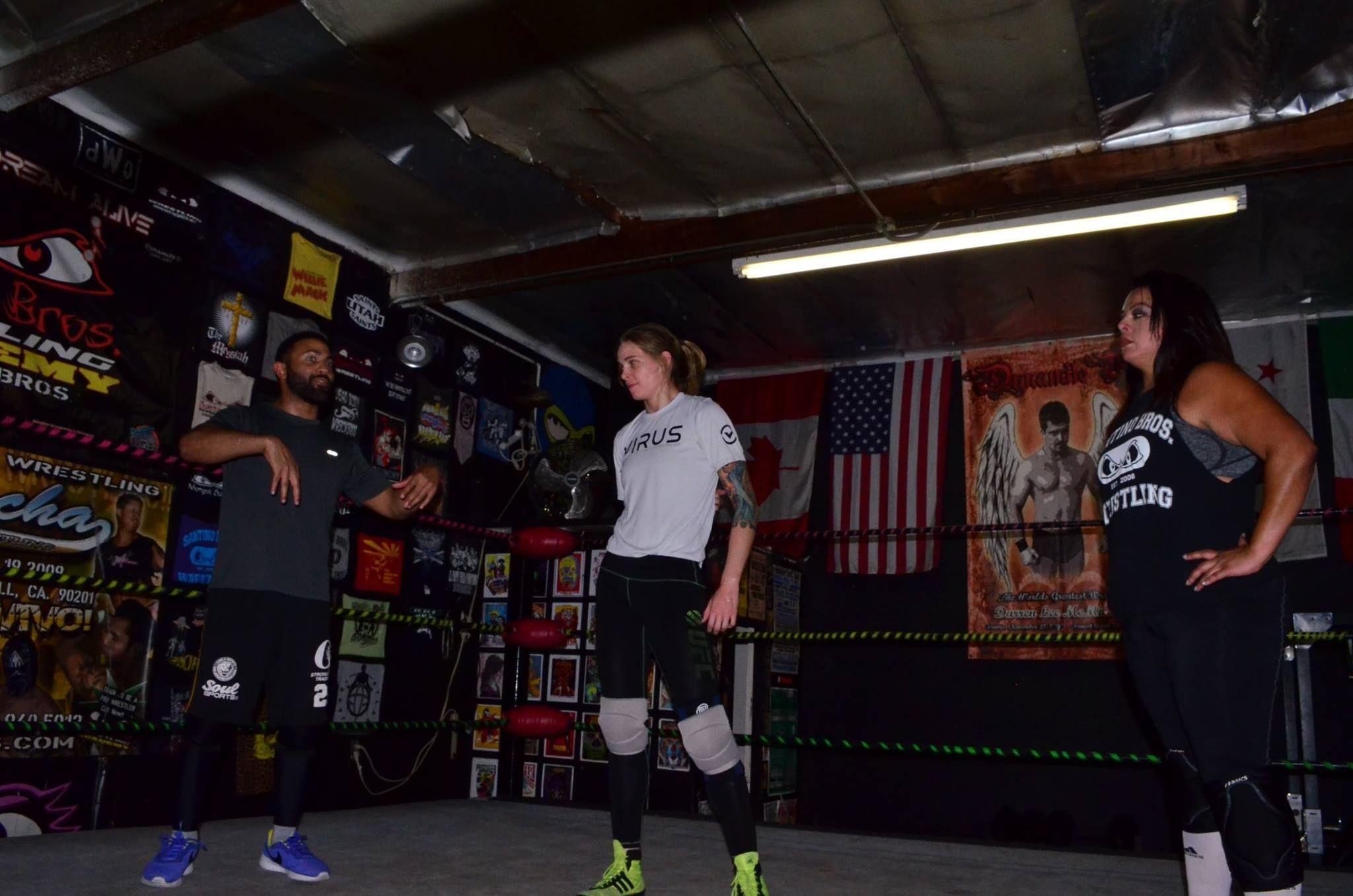 Four Horsewomen Member Jessamyn Duke Begins Wrestling Training (PHOTOS)