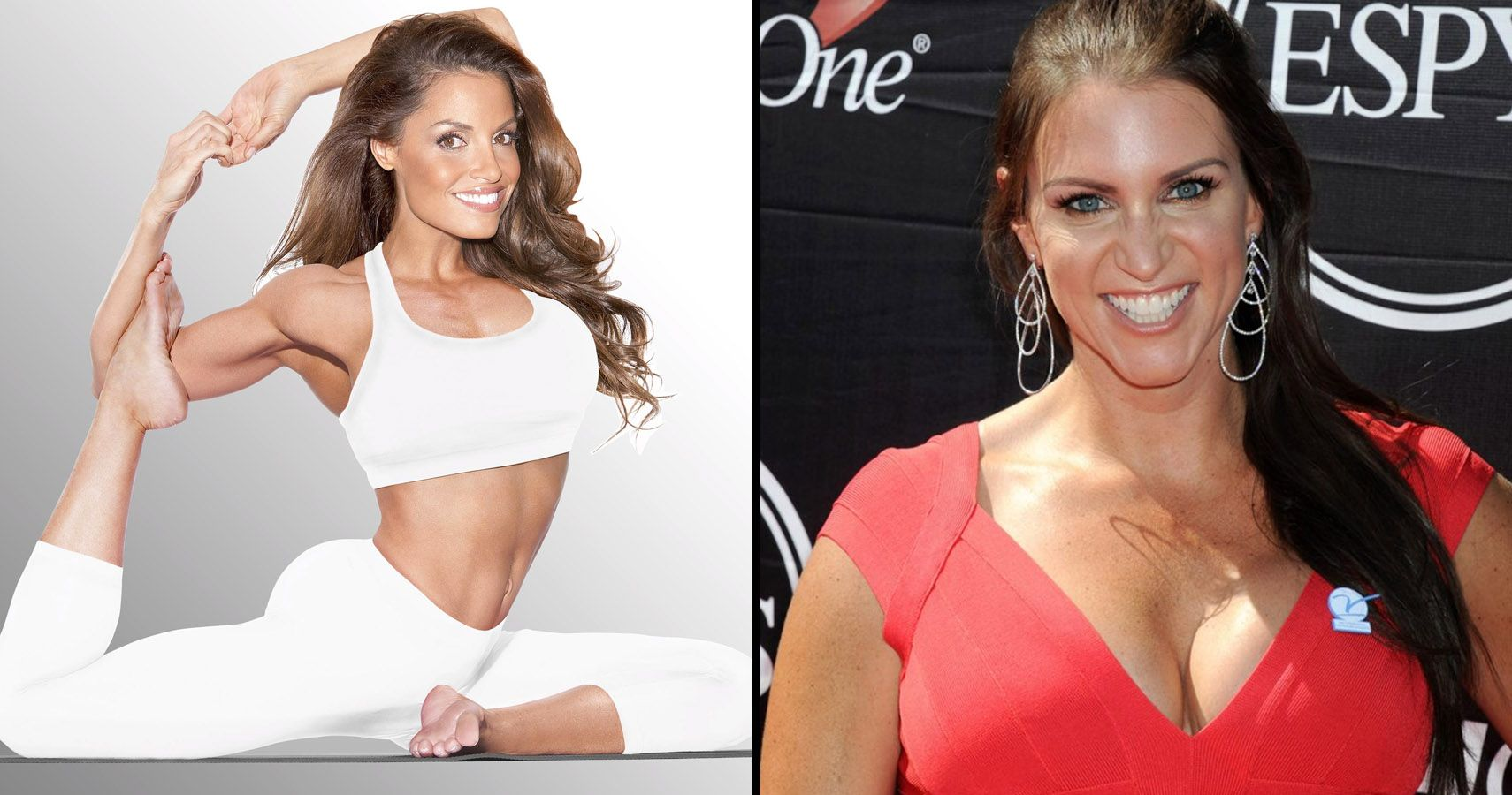 Sexiest Pictures Of Trish Stratus And Stephanie Mcmahon