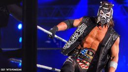 aj styles mask japan osaka bullet club video