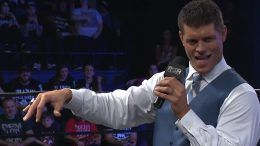 cody rhodes roh ring of honor domestically exclusive contract