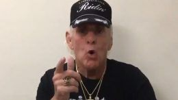 ric flair video update promo back up running