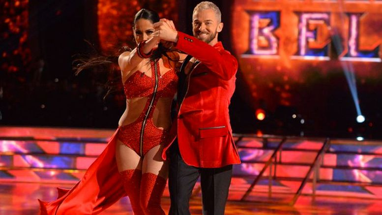dancing with the stars nikki bella debut video wwe