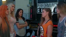 ronda rousey challenge mae young classic charlotte four horsewomen 4 video