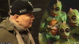 lizard person people billy corgan encounter transformation howard stern show audio