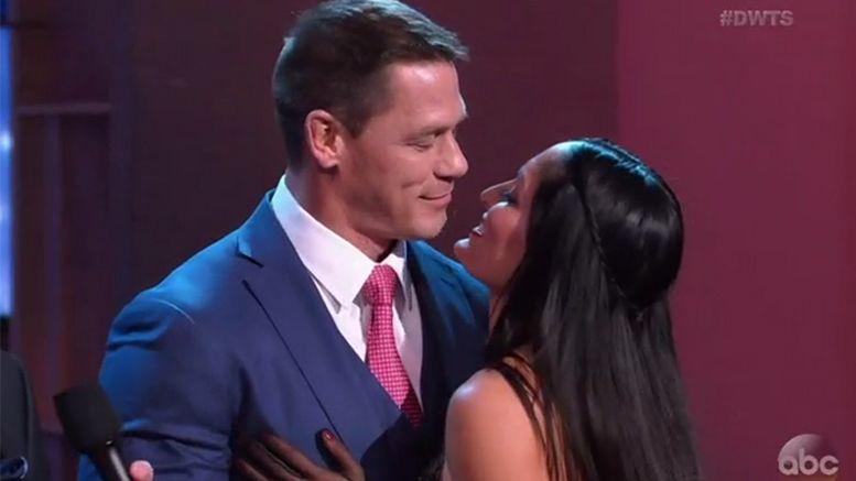 dancing with the stars john cena nikki bella video