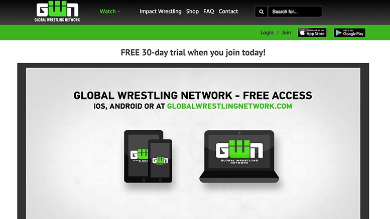 global wrestling network launches impact gfw