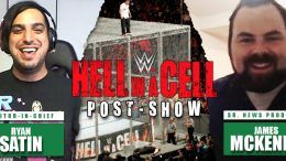hell in a cell post show reactions video audio podcast results