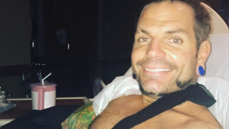 jeff hardy surgery shoulder injury rotator cuff
