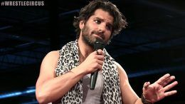 jimmy jacobs promo wrestlecircus couldn't hold microphone