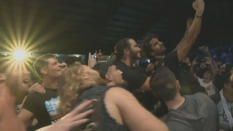 jimmy jacobs global wars appearance video roh ring of honor return