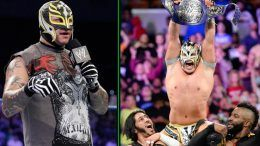 kalisto rey mysterio cruiserweight title win raw reaction